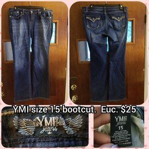 YMI size 15 bootcut jeans